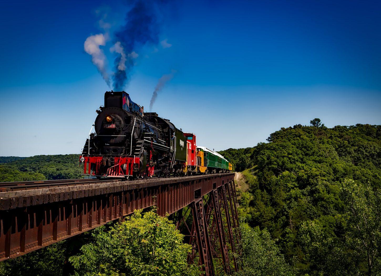 Viagens de trem sem gastar dinheiro