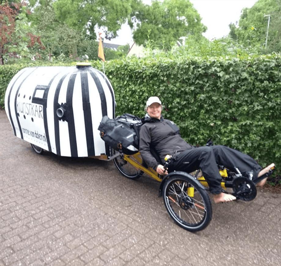 Anne van Dalen: reisen mit kleinem Fussabdruck