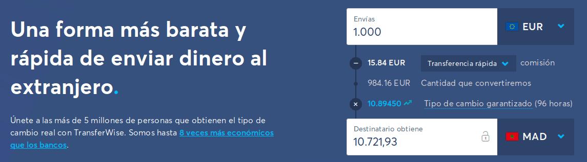 enviar dinero con TransferWise