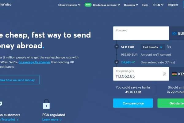 Abrir una cuenta TransferWise Borderless