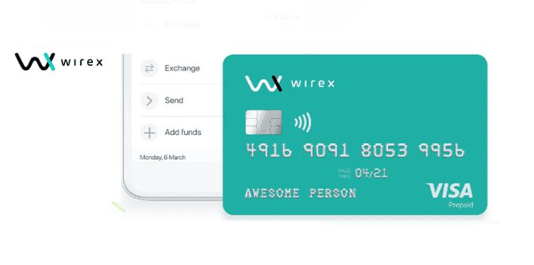 Wirex creditcard