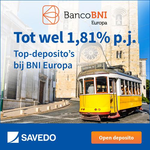 Savedo: hogere rente op je spaarrekening