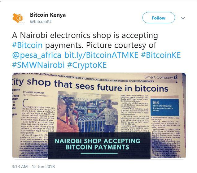Ni Wapi Unaweza Kutumia Bitcoin Barani Africa?