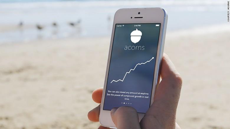 Acorns money investment savings app