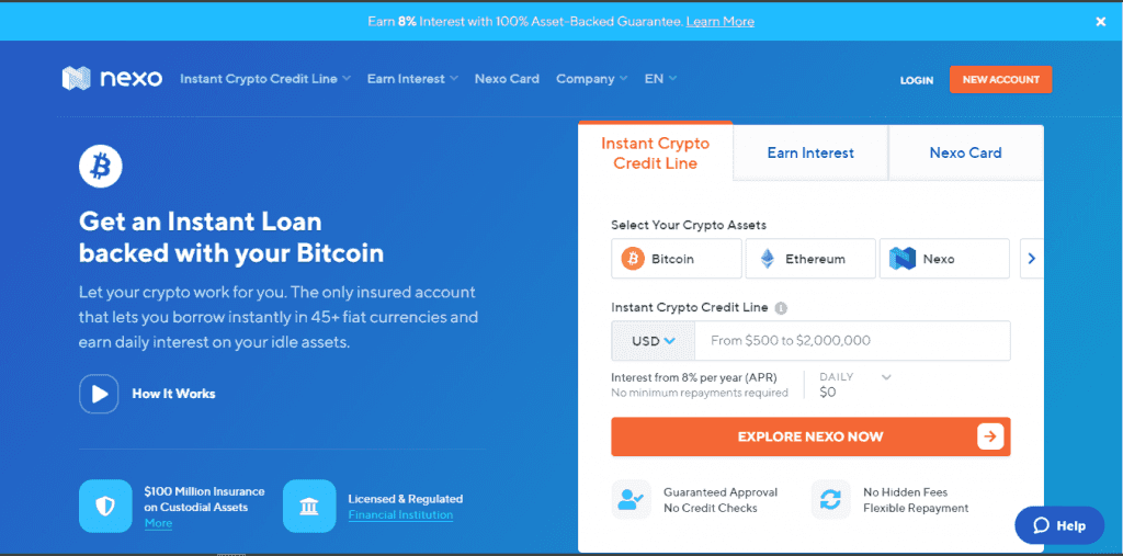 Crypto Loan Without Income