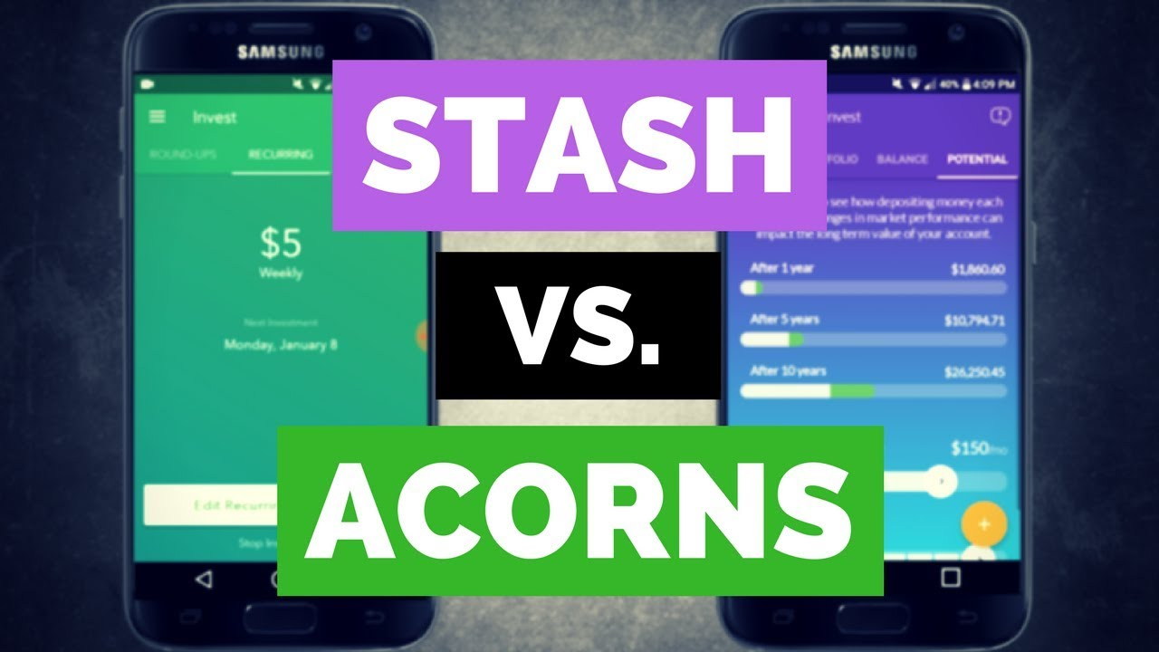 Acorns vs Stash: Which is a Better Micro Investment Platform