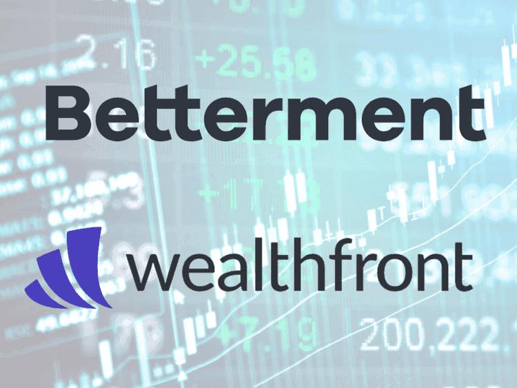comparison of Betterment robo advisor vs Wealthfront robo advisor