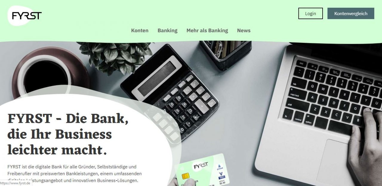 Fyrst: Digital Banking and Business Solutions for Freelancers and Self-Employed