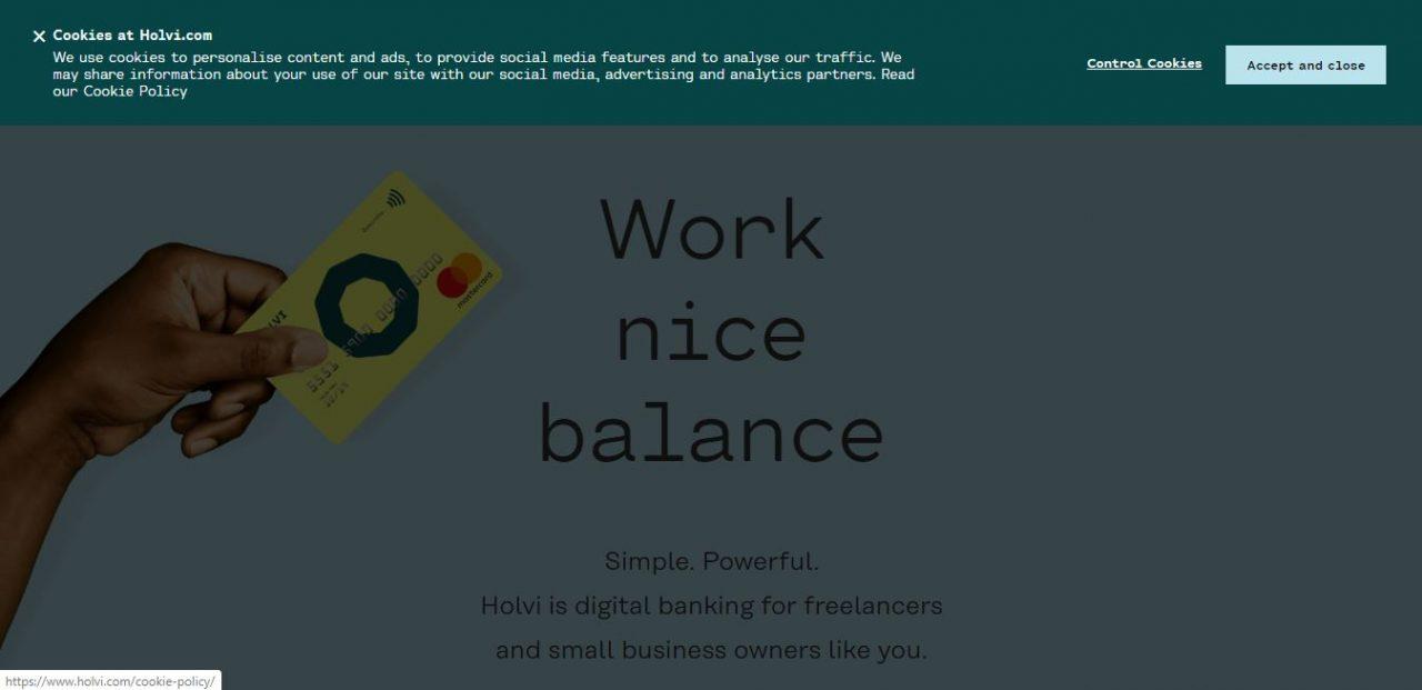 Holvi: Finnish Digital Banking Service for Freelancers, Self-Employed and Micro-Entrepreneurs