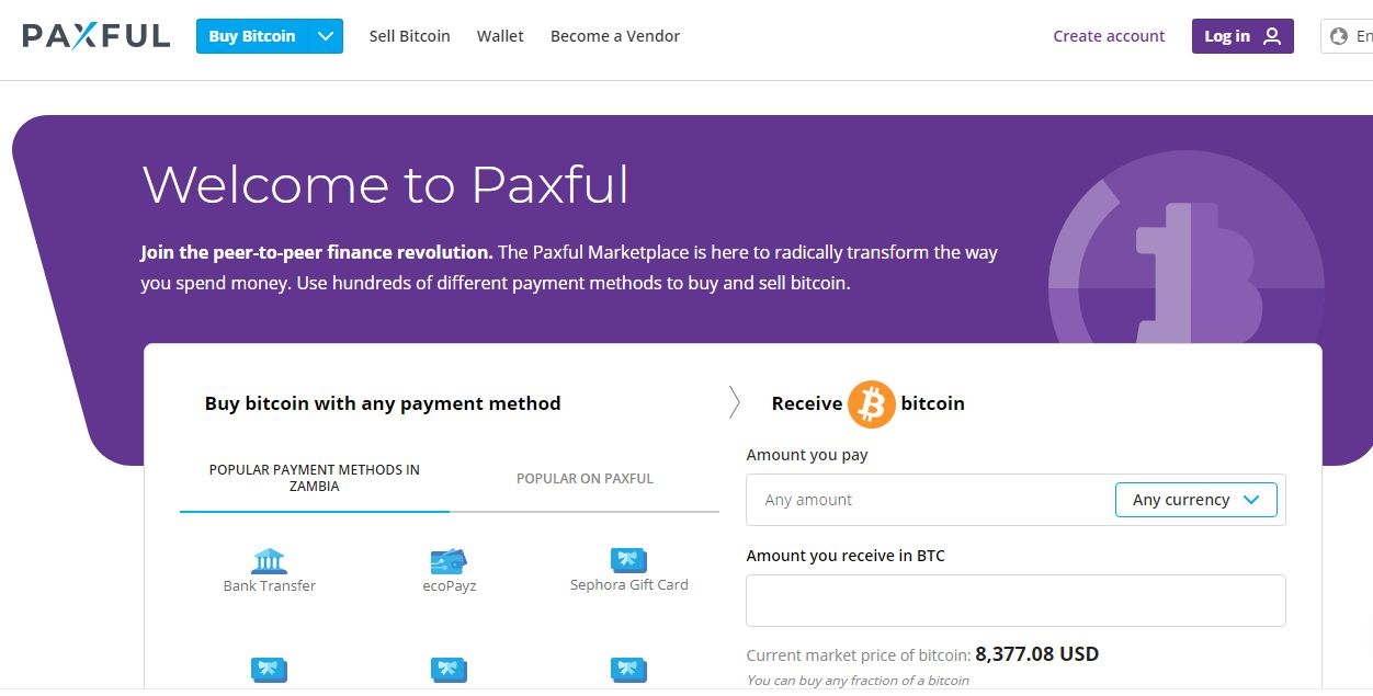 Paxful: Bitcoin Marketplace Overview
