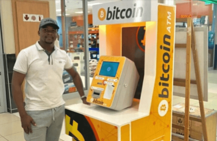A Bitcoin ATM in Botswana is one of the 10 BATMs in Africa