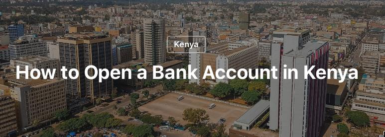 bank account Kenya