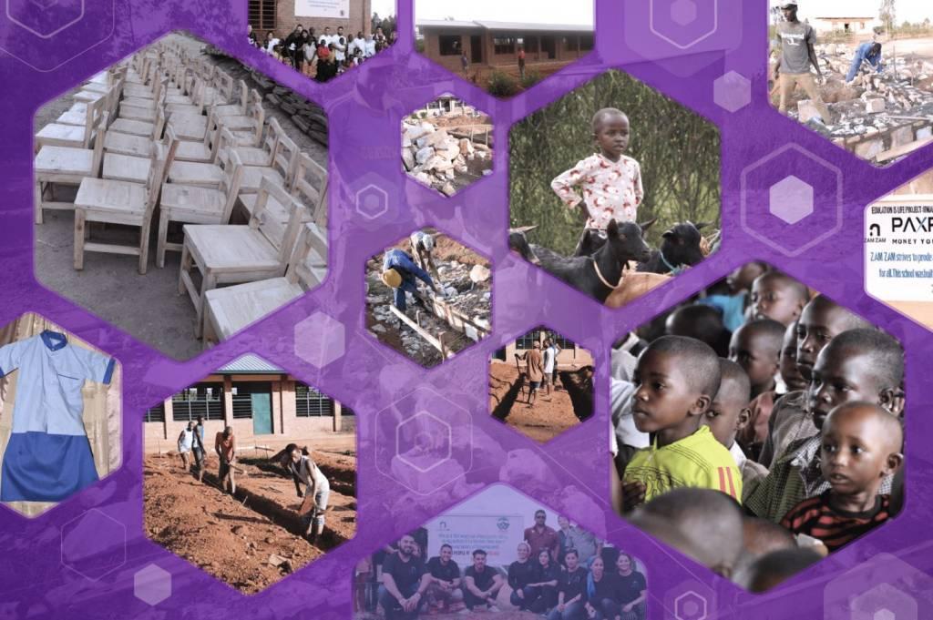 Philanthropy meets bitcoin in Rwanda.