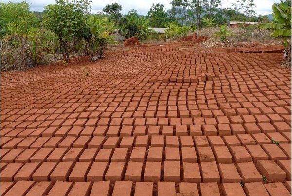 Brick making business in Songea, Tanzania.