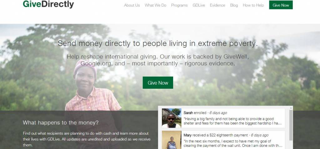give directly program