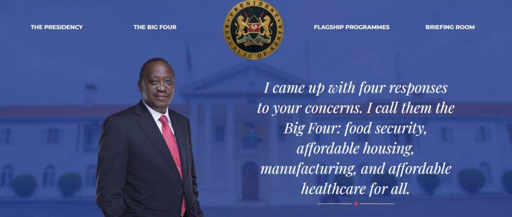 big four agenda healthcare kenya