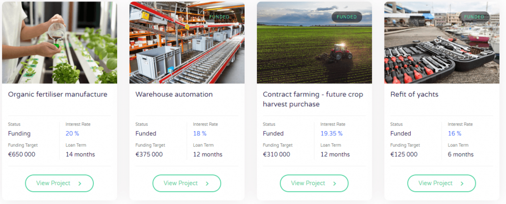 Wisefund Projects