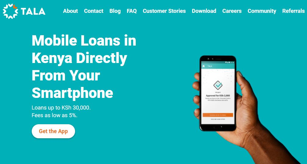 How to Apply For Tala Mobile Loan With M-Pesa in Kenya