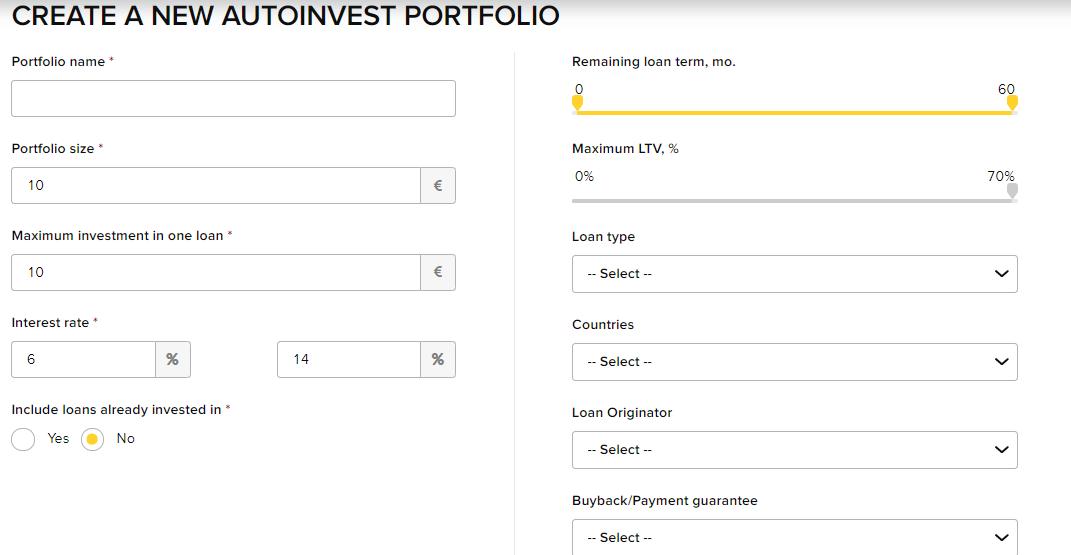 Viventor AutoInvest Portfolio