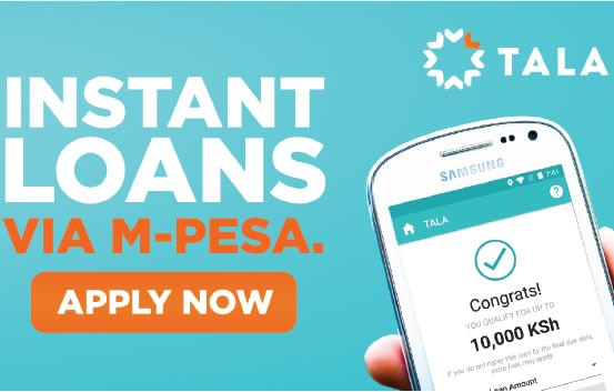 One of the online loans in East Africa