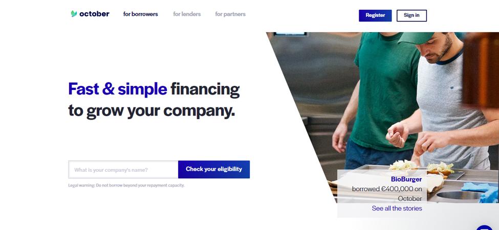 European Peer to Peer Lending Companies1