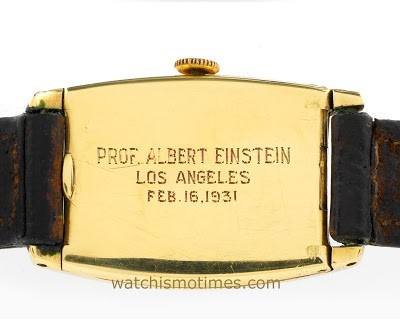 Albert Einstein's Longines wristwatch