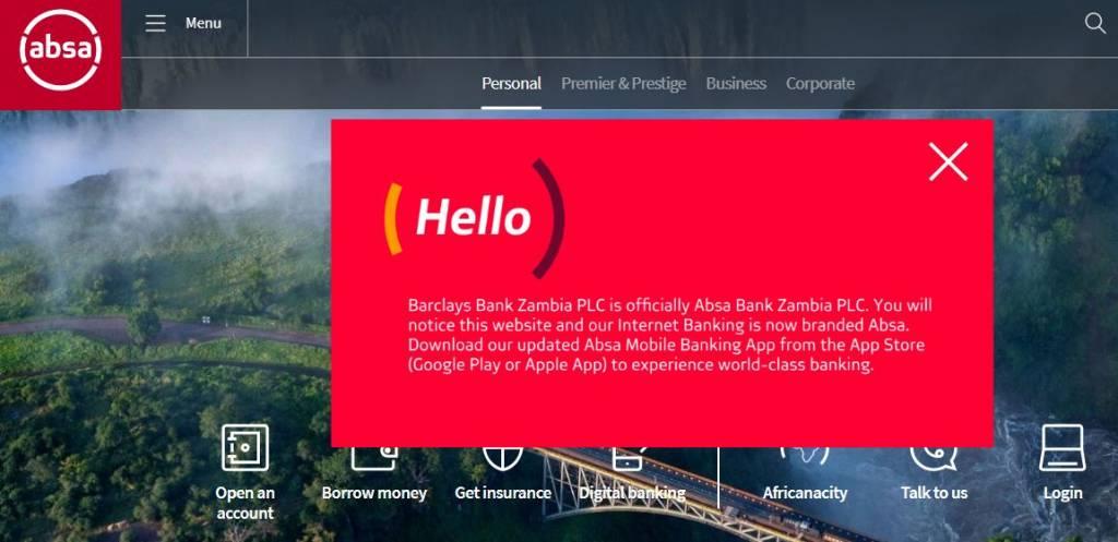 absa bank zambia