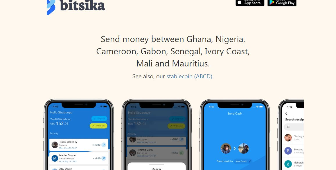 international money transfer ghana nigeria senegal