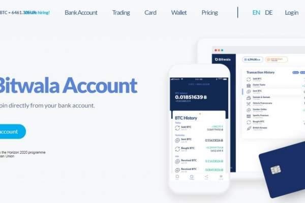 Bitwala: A Blockchain Banking Service