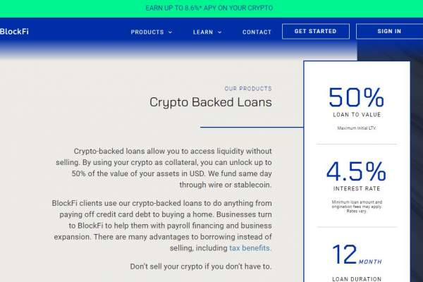 What You Need to Know About BlockFi's Crypto-Backed Loans