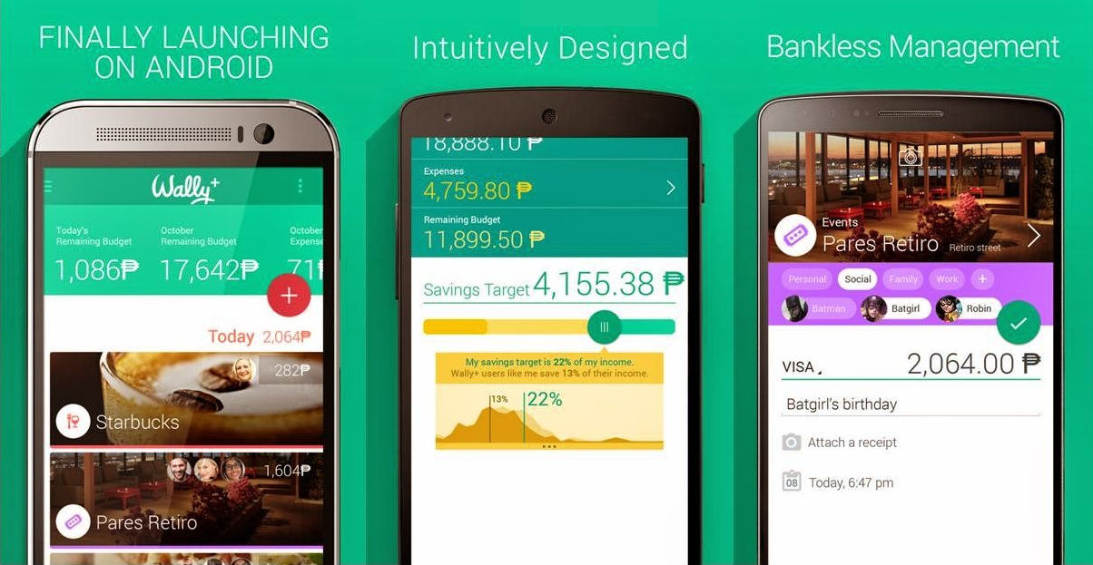 Wally budget app review