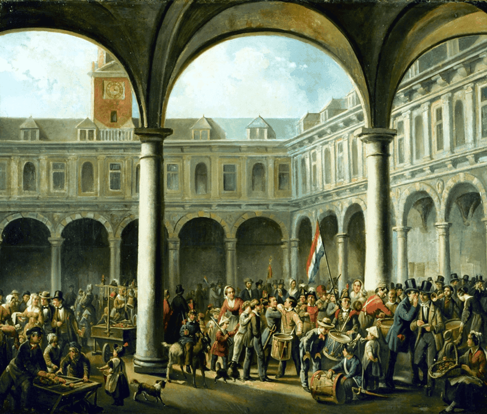 first stock exchanges in the world