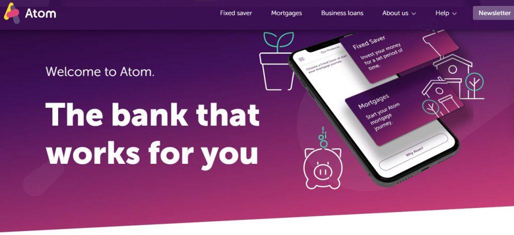 Atom bank UK